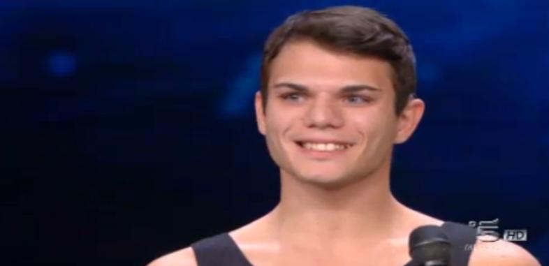 Giuseppe Guercia non sente, ma è un bravo ballerino