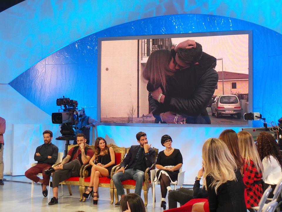 Il bacio di Silvia e Raphael