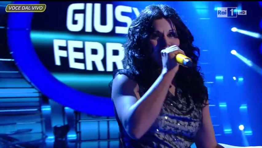 Karima imita Giusy Ferreri, ottava puntata