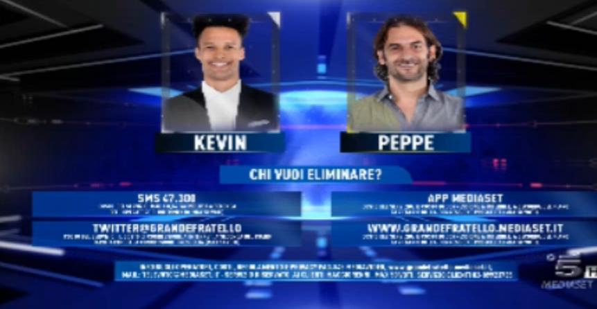 Kevin e Peppe al televoto