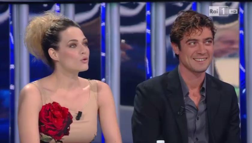 Laura Chiatti e Riccardo Scamarcio a Tale e Quale Show