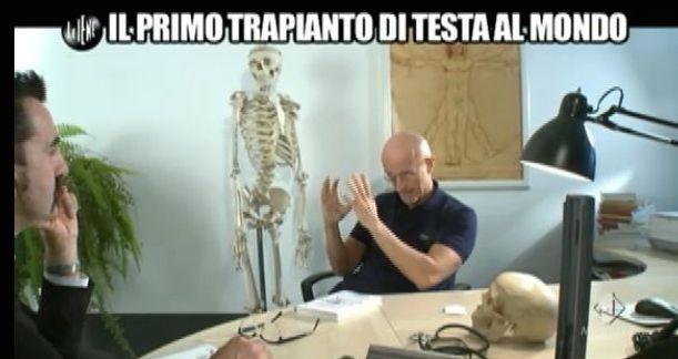 Luigi Pelazza trapianto di testa