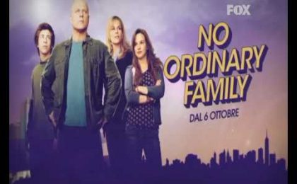 No Ordinary Family, da stasera doppio episodio in prima visione su Fox