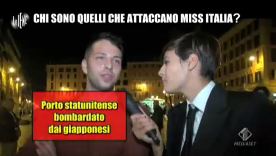 Miss Italia 2015 Iene