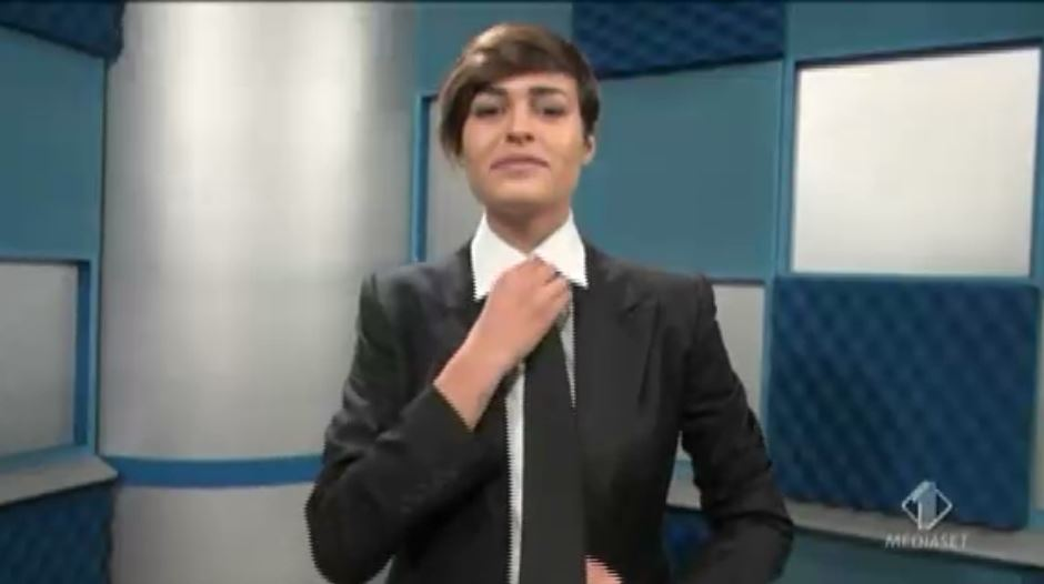 Miss Italia vestita da Iena