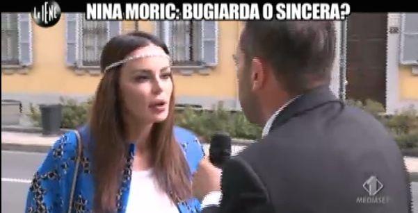 Nina Moric Le Iene