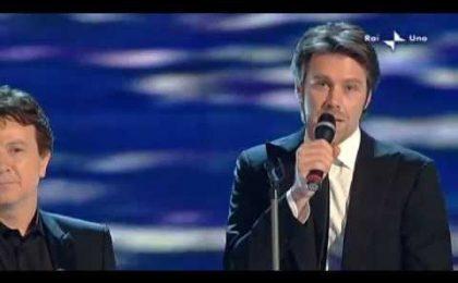 Sanremo 2012, Morgan smentisce il duetto con Emanuele Filiberto, principe burlone