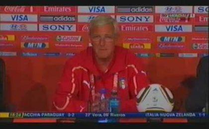 """Mondiali Calcio 2010, Italia fuori. Lippi: """"Mi assumo tutte le responsabilità"""""""