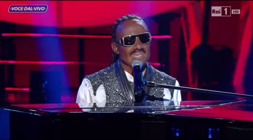 Stevie Wonder (Cicchella)  a Tale e Quale Show