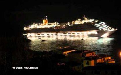 Naufragio Costa Concordia: Tg4 in agitazione per lo speciale TgCom 24 su Rete 4; Fede furioso