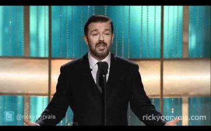 Golden Globes in diretta su Sky Uno ed E!; Ricky Gervais anticipa: 'Non avrò limiti'