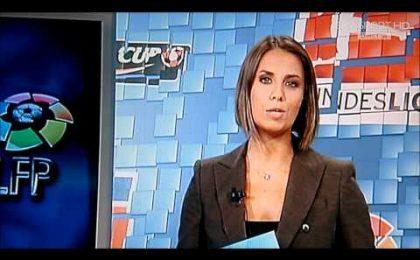 Calcio, Giulia Mizzoni è la prima telecronista donna