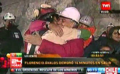 In diretta tv il salvataggio dei 33 minatori cileni