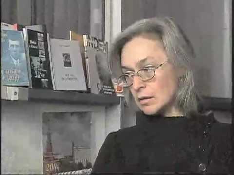 Current ricorda Anna Politkovskaya
