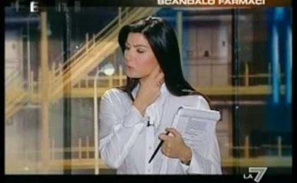 Ilaria D'Amico torna stasera su La 7 con Exit