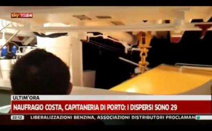 Naufragio Costa Concordia, il Tgcom se la prende con YouTube per i video-bufala