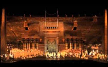 Giugno all'Opera, stasera e domani Cenerentola su Rai 1 e il 23 l'Aida in 3D su Sky