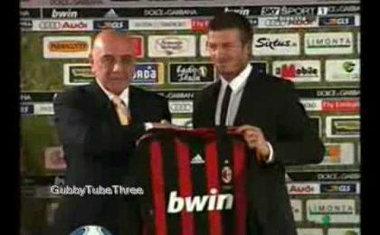 David Beckham corteggiato da GF9 e Sanremo