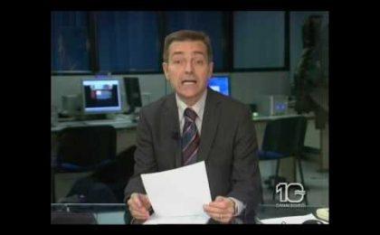 La rissa al tg di Ostia finita al Late Show? Uno scherzo di Enzo Salvi