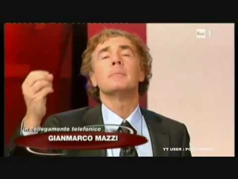 Enzo Iacchetti ancora contro Sanremo 2012 a L'Arena (video): Mazzi pronto alla querela