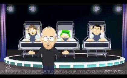 South Park 15, da domani su Comedy Central con una puntata dedicata a Steve Jobs