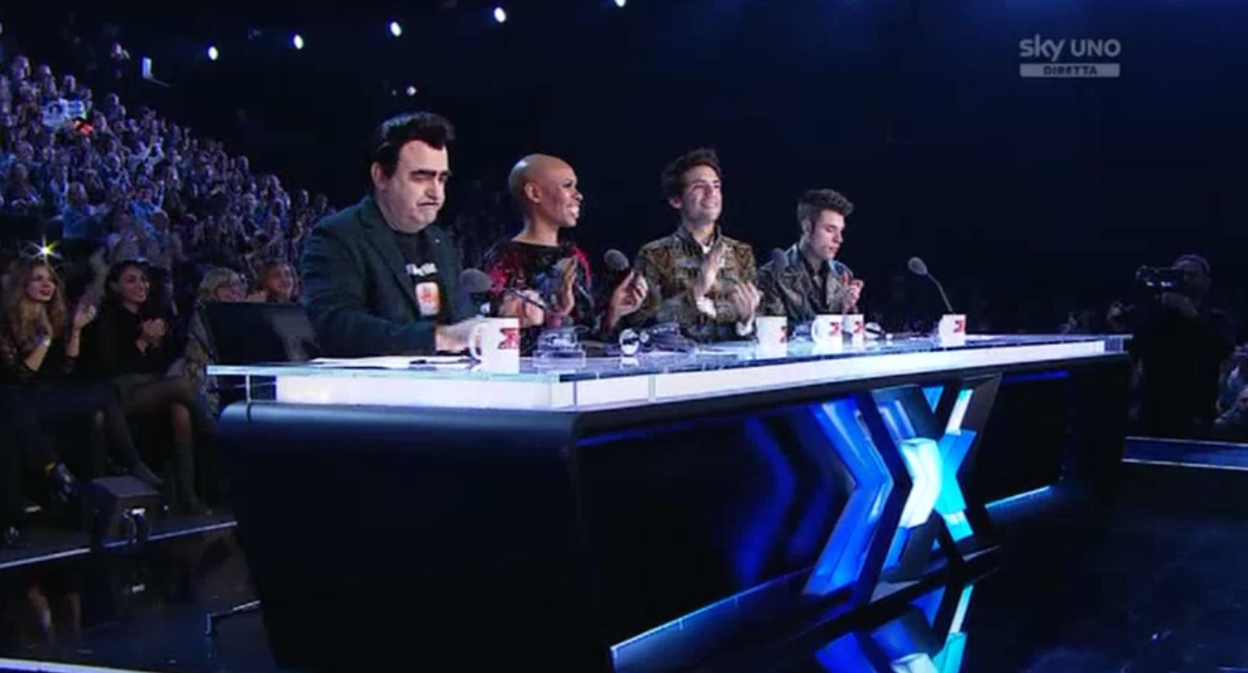 1 I giudici al sesto Live Show
