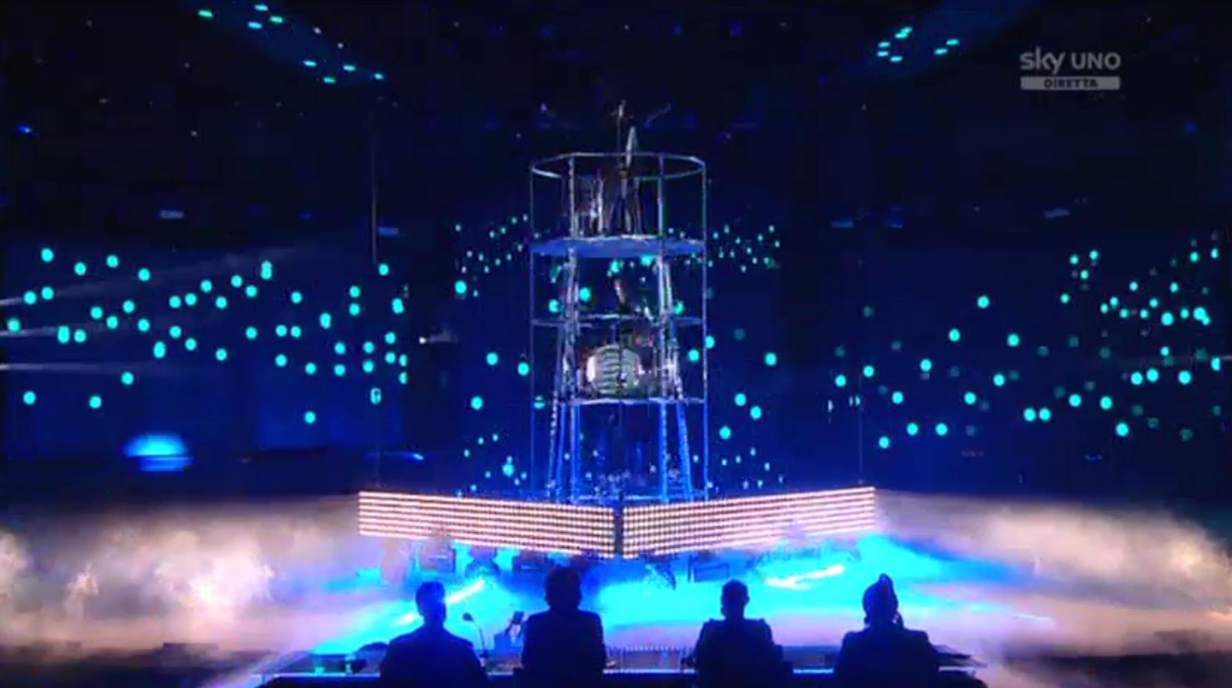 11 I Moseek nella seconda manche del sesto Live Show