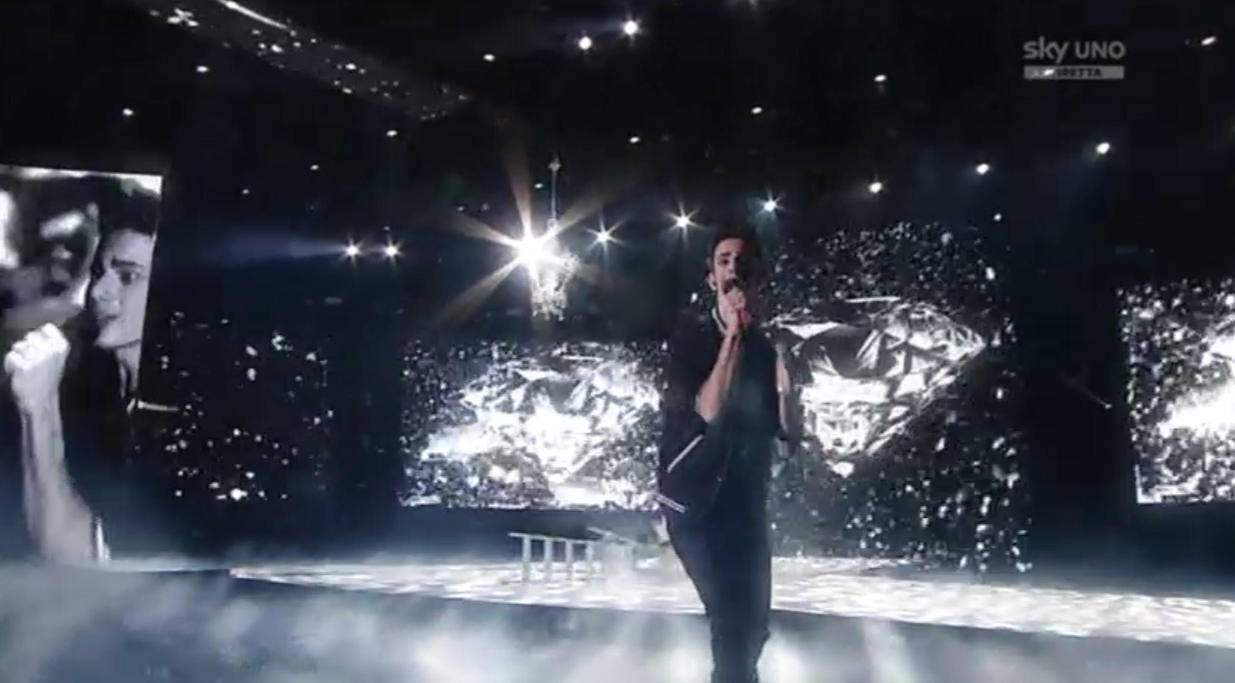 12 Luca Valenti nella seconda manche del sesto Live Show