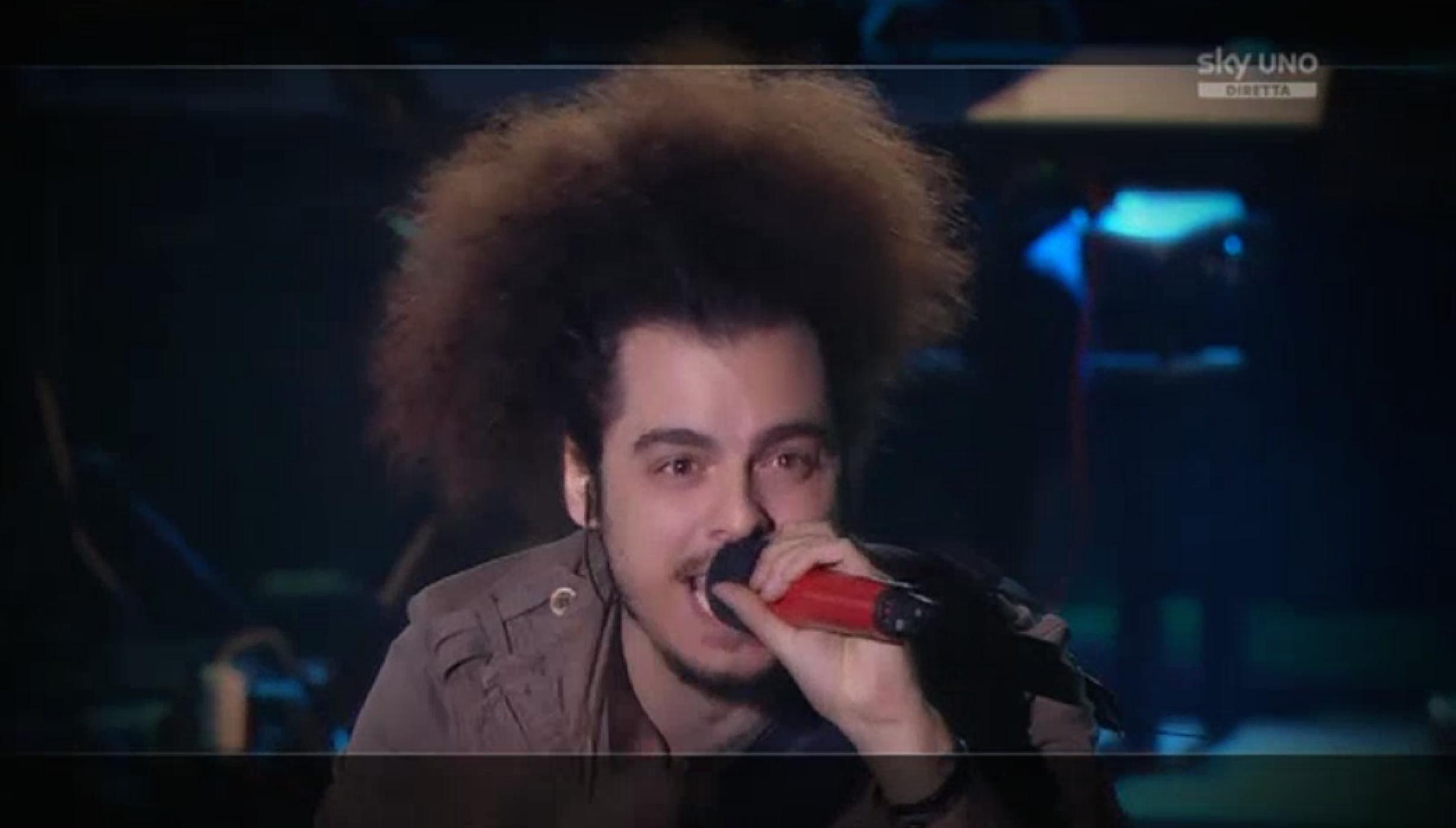 3 Davide Sciortino nella prima manche del sesto Live Show