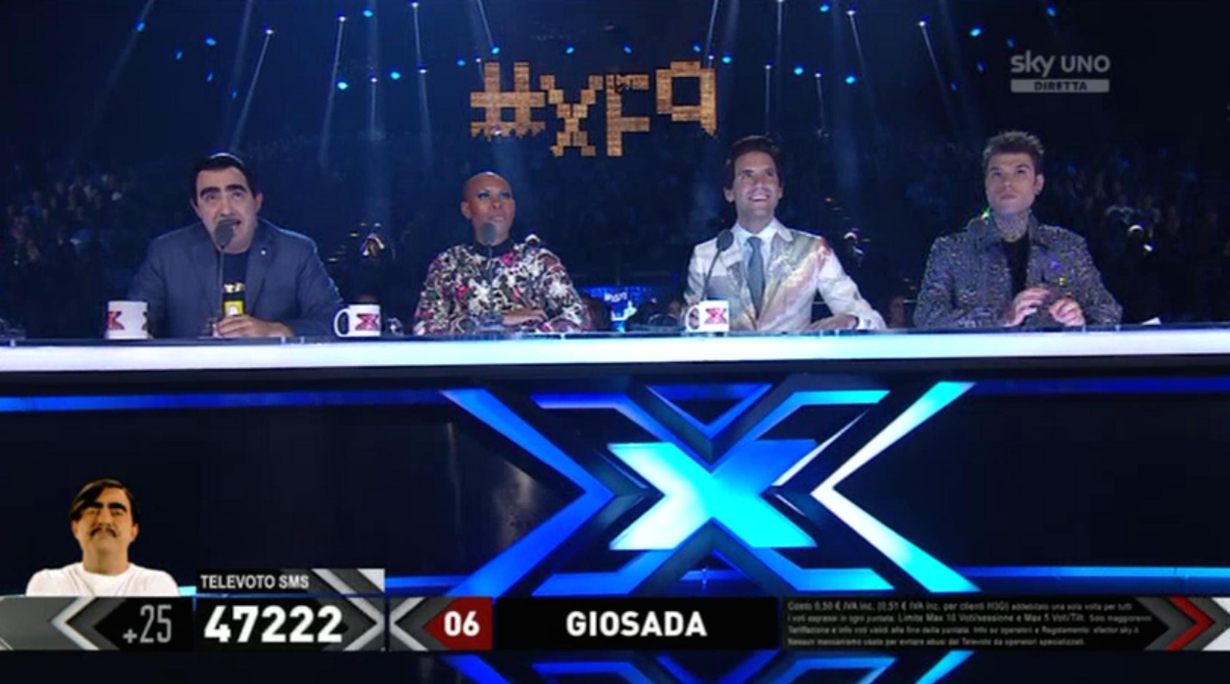 3 I giudici dopo la prima manche del quinto Live Show