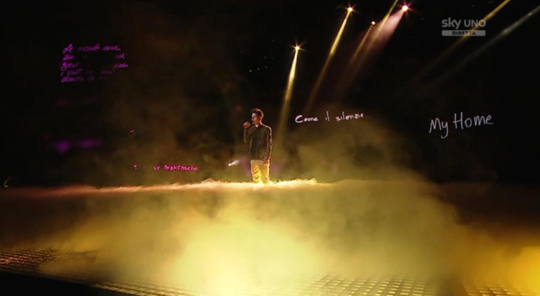 7 Luca Valenti al quinto Live Show