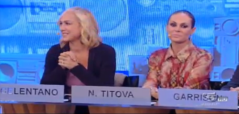 Alessandra Celentano e Natalia Titova vicine