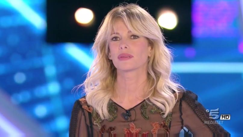 Alessia Marcuzzi durante la settima puntata