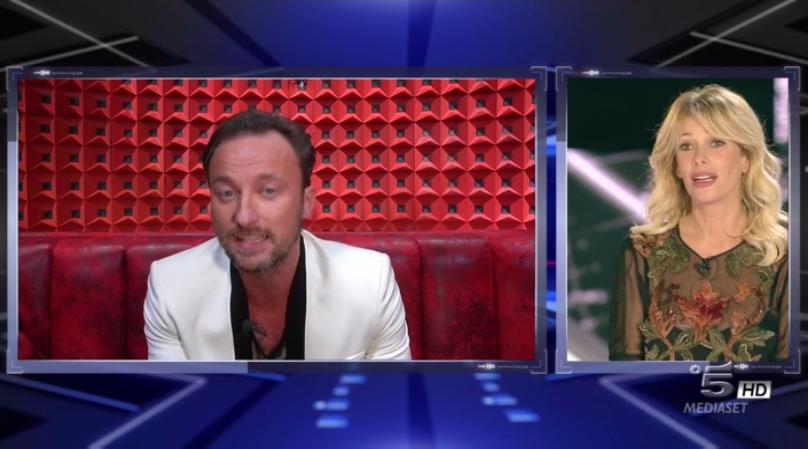 Alessia Marcuzzi si collega col suo ex Francesco Facchinetti