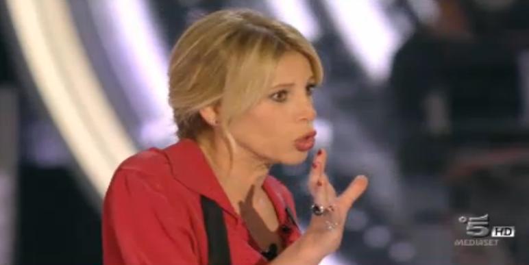 Alessia Marcuzzi si confronta con Lidia