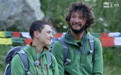 Monte Bianco, prima puntata 9 novembre 2015: eliminati Arisa e Matteo Calcamuggi [Diretta Live]