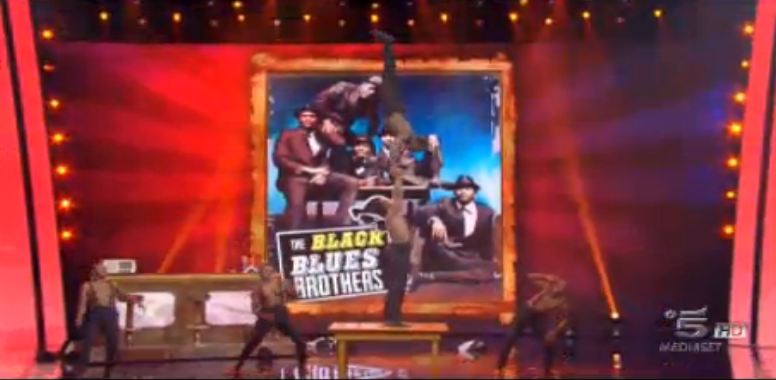 Black Blues Brothers a Tu sì que vales
