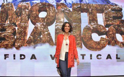 Caterina Balivo a Televisionando: 'Monte Bianco crea dipendenza' [INTERVISTA]