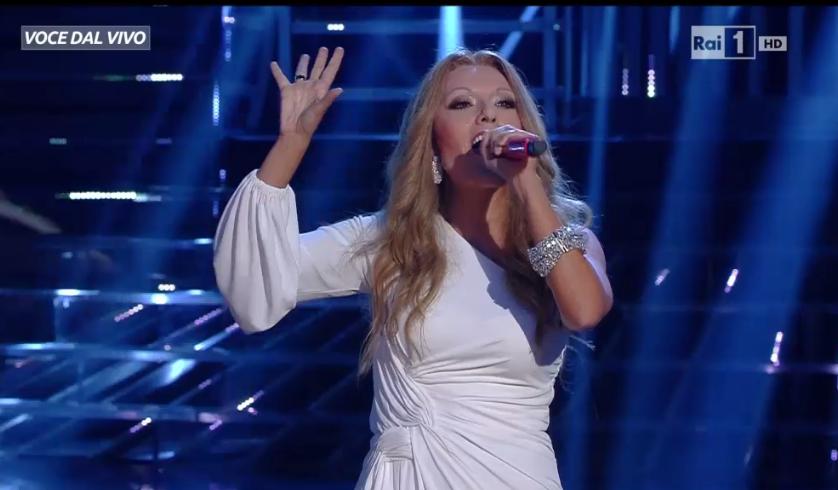 Celine Dion imitata a Tale e Quale Show, Serena Rossi