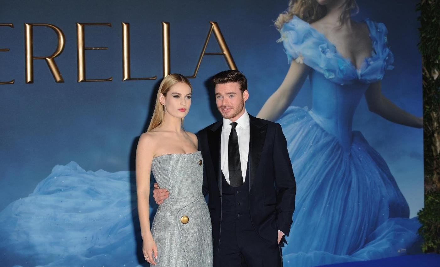 Prima del film Cinderella a Londra