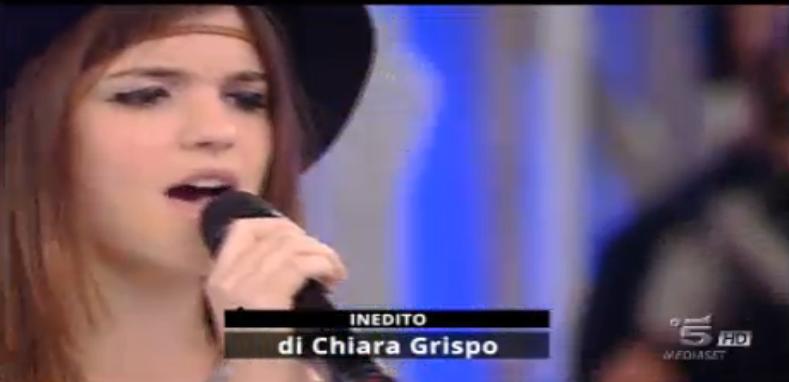 Chiara Grispo ad Amici 15