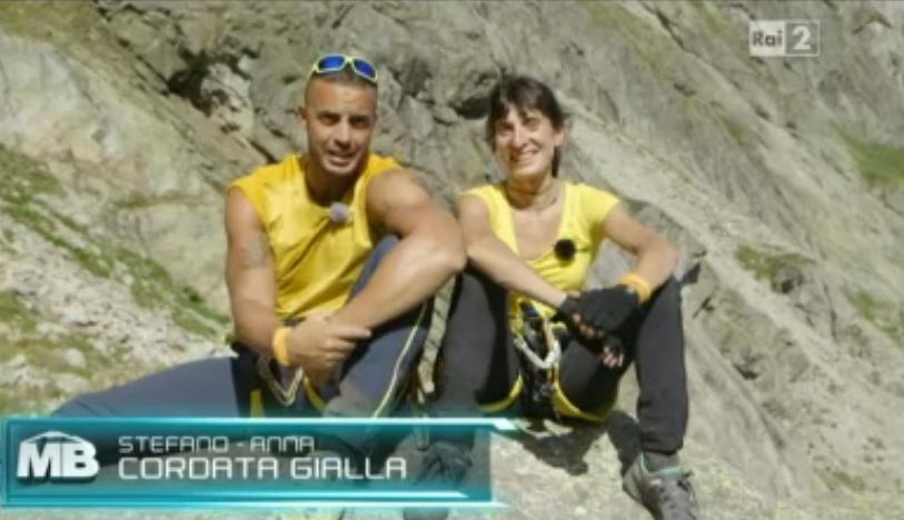 Cordata gialla Monte Bianco