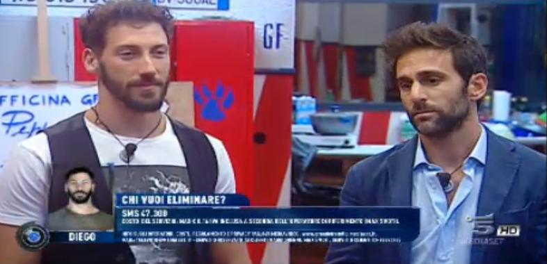 Diego e Luigi di nuovo al televoto