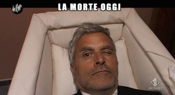 Enrico Lucci bara