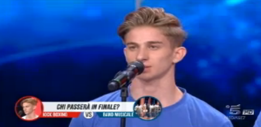 Giuseppe Gentile in semifinale