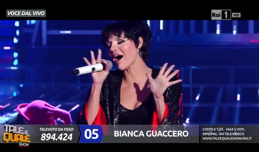 Liza Minnelli imitata a Tale e Quale Show 5, Bianca Guaccero