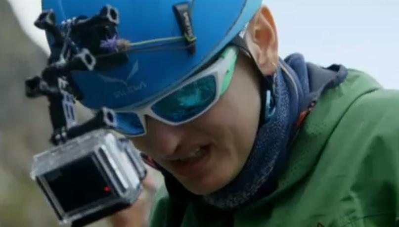 Prima scalata di Arisa a Monte Bianco