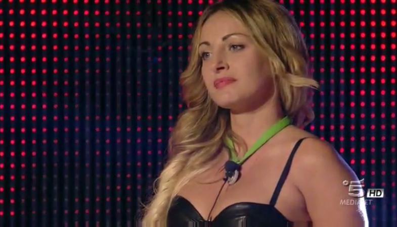 Rossella eliminata al televoto