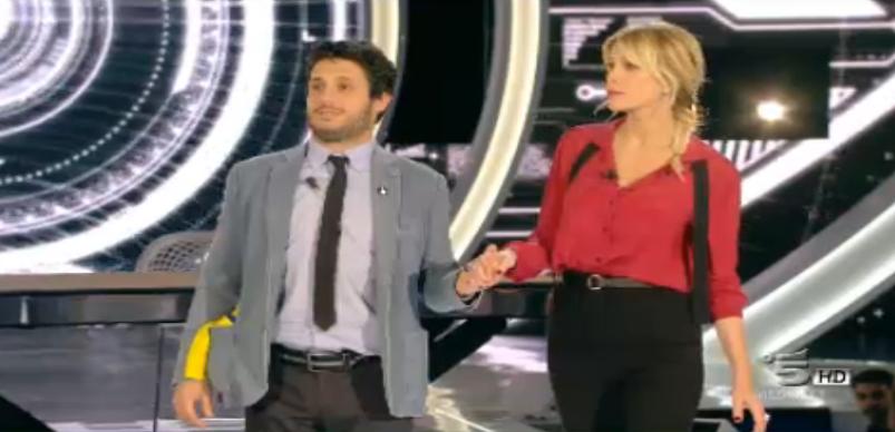 Simone e Marcuzzi freezati