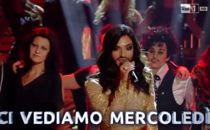 Tale e Quale Show 5, nona puntata 6 novembre in diretta: Valerio Scanu imita Conchita Wurst e vince [Live]